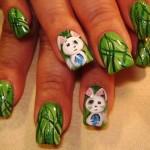 Дизайн ногтей «Пасхальный заяц»
