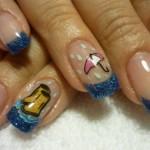 Дизайн ногтей «Апрельский дождь»