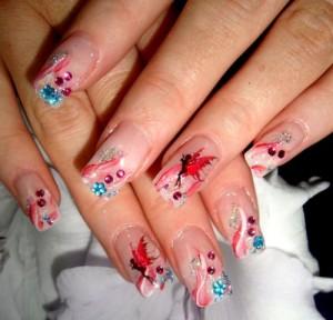 Дизайн ногтей «Сказка»