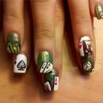 Дизайн ногтей «Казино»