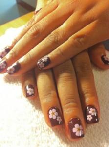 Дизайн ногтей «Весенние цветы»
