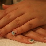 Ретро-дизайн ногтей