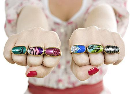 Акриловые ногти вместо... камней