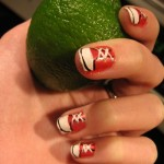 Дизайн ногтей с кедами