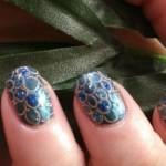 Дизайн ногтей «Круги» (Shellac)