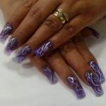 Дизайн ногтей «Спиральные мотивы»