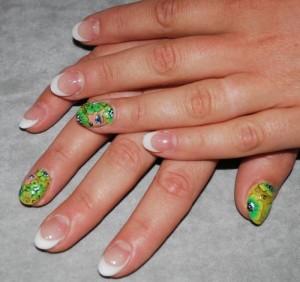 Дизайн ногтей «Лесная сказка»