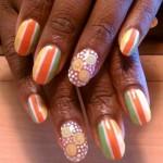 Дизайн ногтей «Летние фрукты»