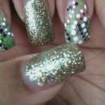 Денежный дизайн ногтей