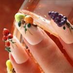 Лепка на ногтях: маленькие шедевры