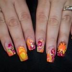 Дизайн ногтей «Летние краски»