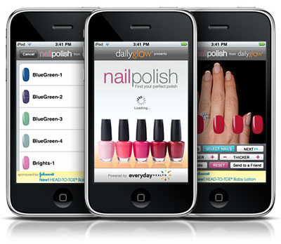 Download Daily Glow Nail Polish iPhone App