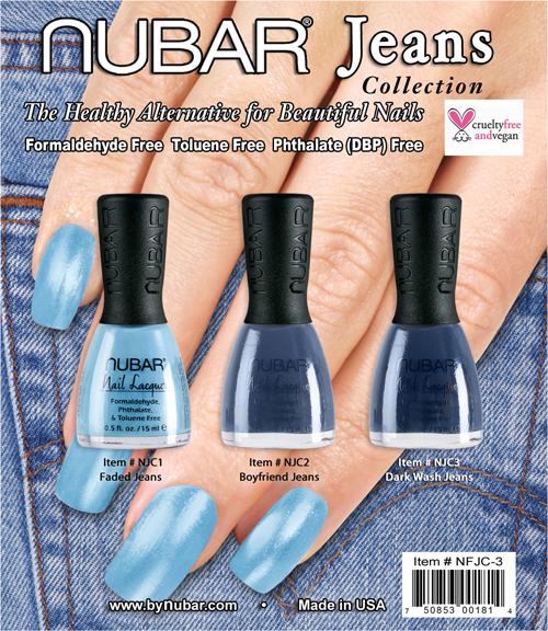 """Nubar Jeans: модный """"джинсовый"""" лак"""