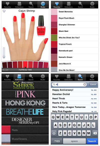 Download OPI iPhone App