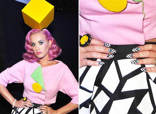 Маникюр Кэти Перри на MTV VMA 2011