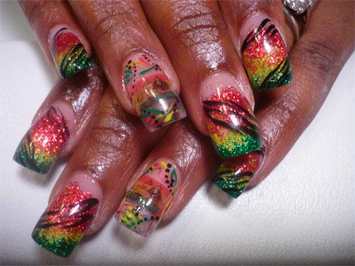 """Дизайн ногтей """"Сафари"""""""