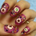 Урок по дизайну ногтей для Хэллоуина