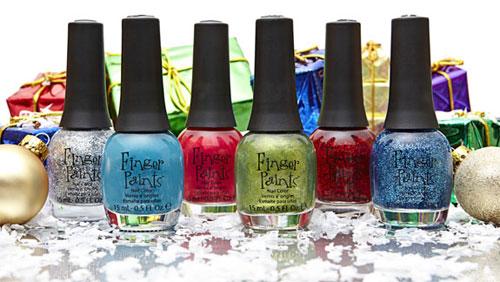 Новогодняя коллекция лака Finger Paints