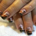 Дизайн ногтей «Осенняя абстракция»