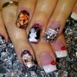 Дизайн ногтей «Мэрилин Монро»