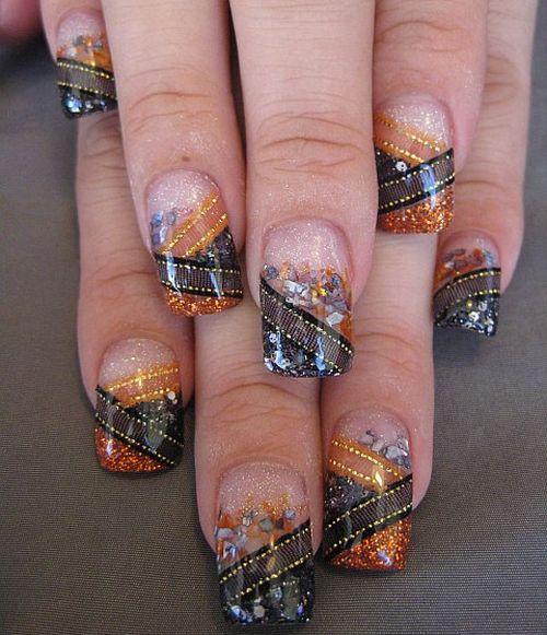Дизайн ногтей для Хэллоуина