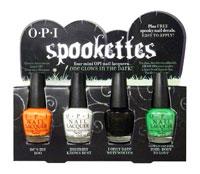 OPI Spookettes для вечеринки Хэллоуин