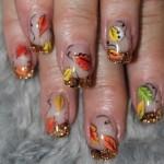 Дизайн ногтей «Листопад»