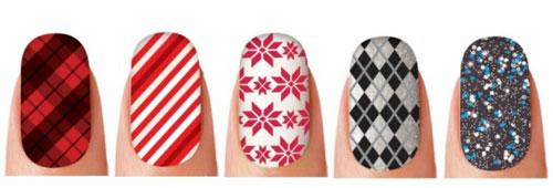 Наклейки для ногтей от Sally Hansen, зимний вариант