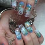 Дизайн ногтей «Зимняя сказка»