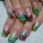 Дизайн ногтей «Новогодние мотивы»