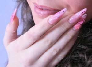 Розовые стилеты