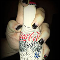 Coca-Cola выбрала ногти от Minx