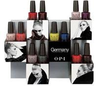 Коллекция лака OPI Germany - осень в Берлине