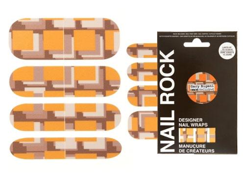 Дизайнерские наклейки на ногти Nail Rock