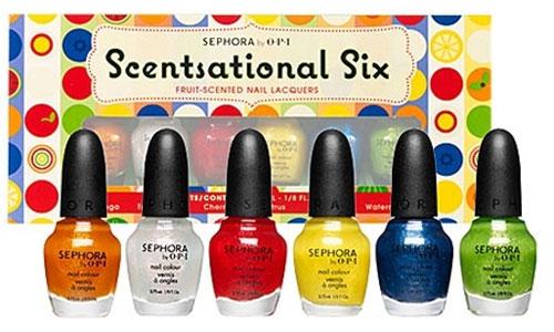 Scentsational Six: шесть оттенков, шесть ароматов