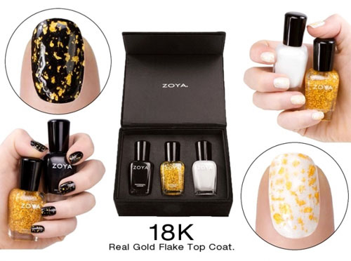 Gilty Pleasures: золотые ногти от Zoya