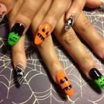 Дизайн ногтей для Хеллоуина