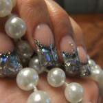 Дизайн ногтей «Блеск кристаллов»