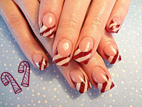 Дизайн ногтей к Рождеству
