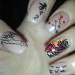 Дизайн ногтей «Китайский Новый год»