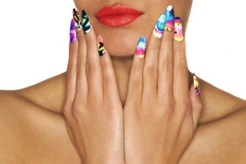 Наклейки для ногтей от M.I.S.S и Minx