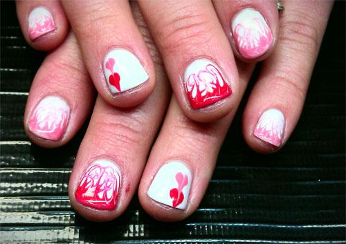 Дизайн ногтей для Дня всех влюбленных