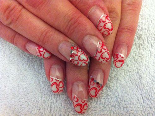 Дизайн ногтей для Дня Святого Валентина