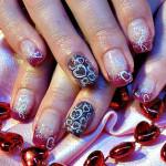 Дизайн ногтей к Дню всех влюбленных