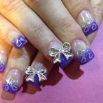 Дизайн ногтей с бантами