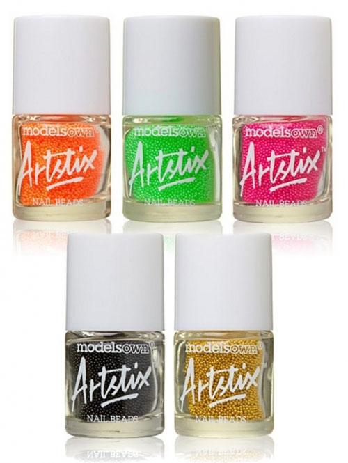 Artstix Nail Beads - неоновый бисер на ногтях