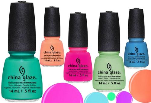 Лето. Лак для ногтей. China Glaze Sunsational.
