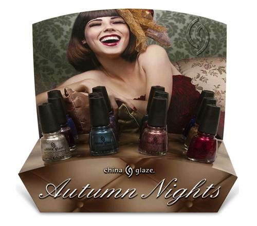 Autumn Nights - осенняя коллекция от China Glaze