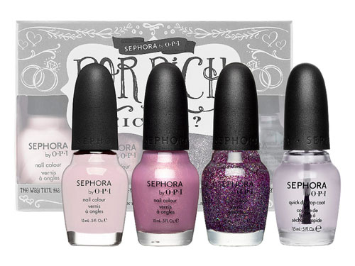 Sephora by OPI - маникюр для невест вместе с Bridal Nail Kits