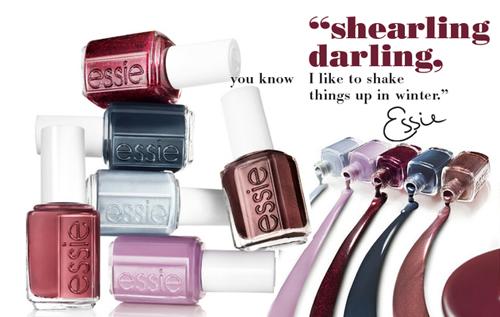 Коллекция Shearling Darling - лак для зимы от Essie